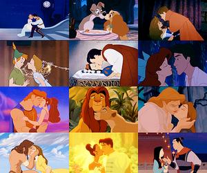 disney, love, and kiss image