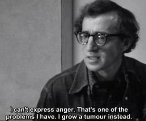 quote, woody allen, and manhattan image