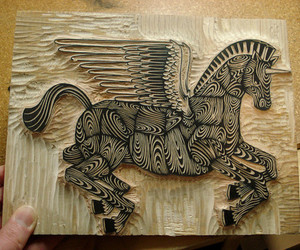 design, horse, and pegasus image