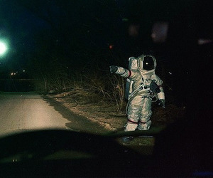 astronaut, indie, and costume image