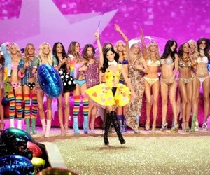 fashion show, katy perry, and vs image