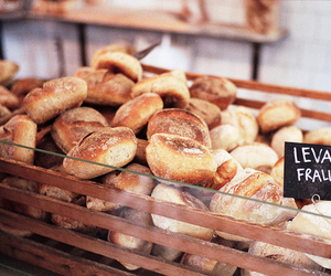 bread, food, and bakery image