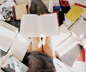 book, study, and reading image