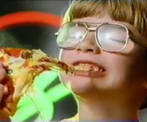 90s and pizza image