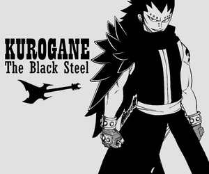 gajeel and fairy tail image