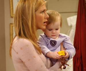 baby, Jennifer Aniston, and mother image