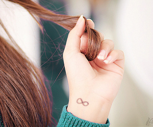 tattoo, beautiful, and hair image