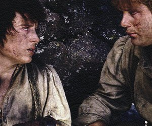 elijah wood, lord of the rings, and frodo baggins image