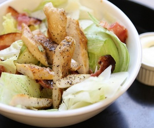 milan, milano, and chicken caesar salad image