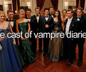 the vampire diaries, cast, and Vampire Diaries image