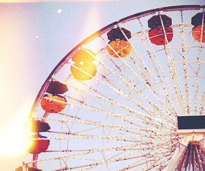 ferris wheel, photography, and colorful image