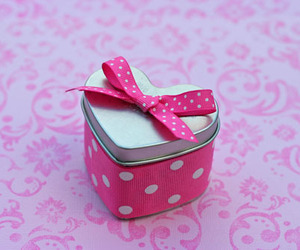 bow, box, and bubbles image