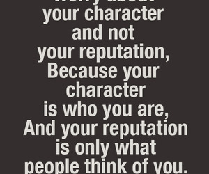 quotes, character, and Reputation image