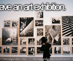 art, art exhibition, and art gallery image