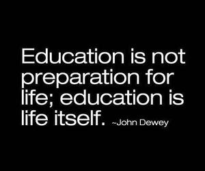 life, education, and quote image