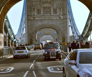 london, tower bridge, and uk image