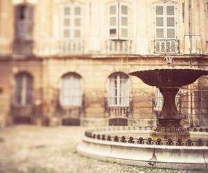 fountain, vintage, and architecture image