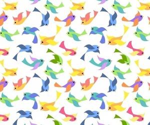 art, background, and birds image