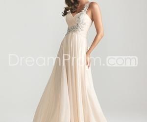 dress, long, and prom dress image
