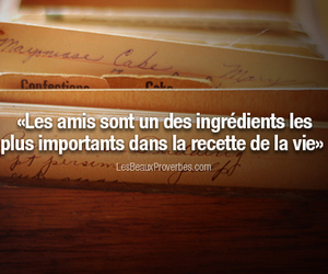 citation, proverbe, and amitié image