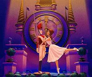 love, ballet, and music image