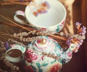 vintage and tea image