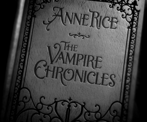 book, vampire, and anne rice image
