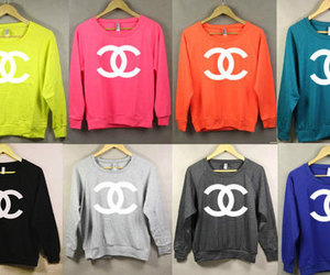 chanel, fashion, and colors image