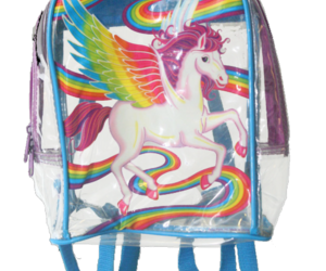 90s, lisa frank, and backpack image