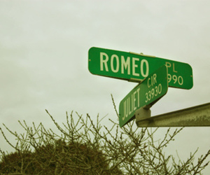 romeo, juliet, and love image