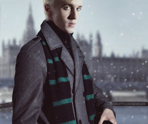 adorable, draco malfoy, and photo manip image