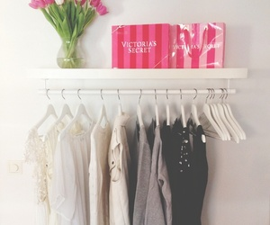 clothes, flowers, and pink image