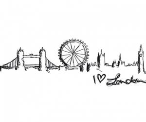 london, england, and city image