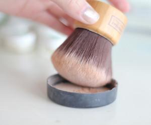 makeup, make up, and powder image