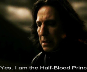 half-blood prince, harry potter, and snape image