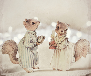 art and squirrels image