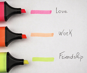 love, colors, and friendship image