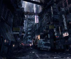 cyberpunk, game, and city image