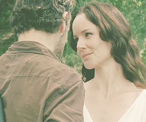 sarah wayne callies, the walking dead, and andrew lincoln image