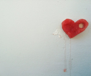 wall, white, and broken heart image