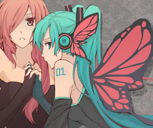miku, vocaloid, and luka image
