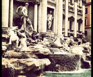 awesome, rome, and trevi fountain image