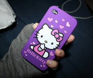 hello kitty, iphone, and case image