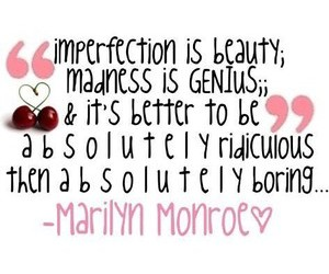Marilyn Monroe, quote, and beauty image