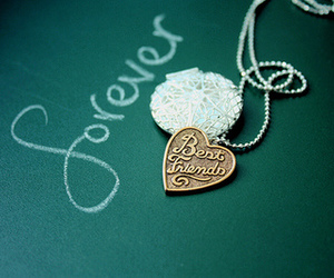 forever, necklace, and best friends image