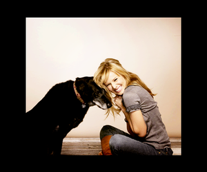 kristen bell, dog, and smile image