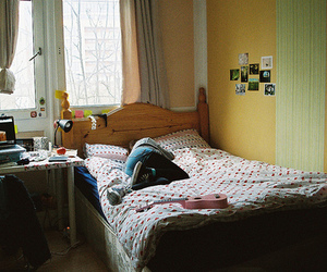 girl, photography, and room image