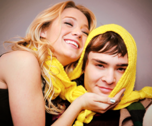 gossip girl, blake lively, and ed westwick image