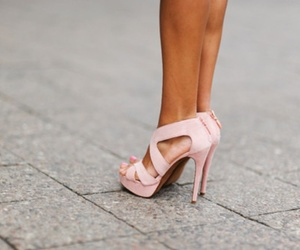 accessorise, high heels, and shoes image