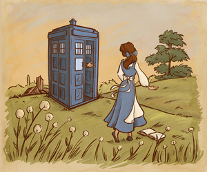 belle, disney, and draw image